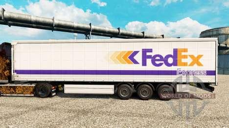 A FedEx Express pele para reboques para Euro Truck Simulator 2