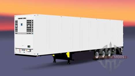 Semi-reboque frigorífico Schmitz Cargobull para Euro Truck Simulator 2