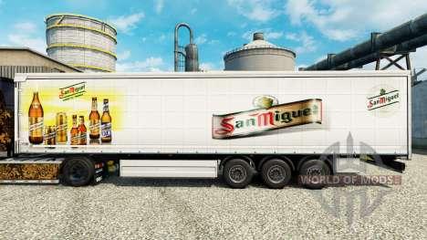 Pele San Miguel para semi-reboques para Euro Truck Simulator 2