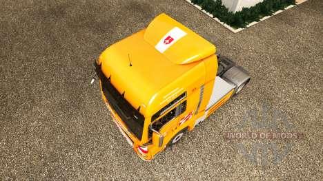 O J. Eckhardt Spedition pele v1.8 o trator HOMEM para Euro Truck Simulator 2
