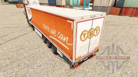 Pele TNT Express semi para Euro Truck Simulator 2