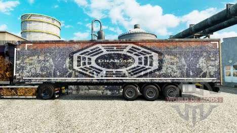 DARPA pele para reboques para Euro Truck Simulator 2
