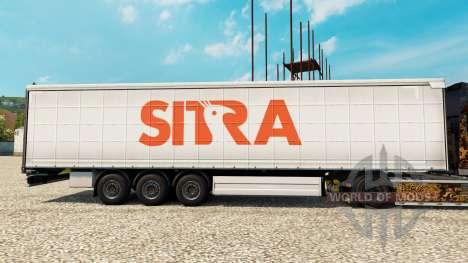 Sitra pele para reboques para Euro Truck Simulator 2