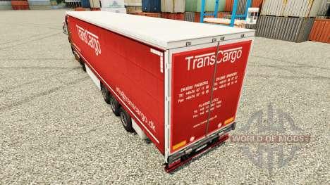 TransCargo pele para reboques para Euro Truck Simulator 2