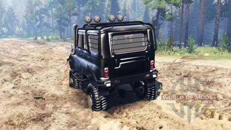 UAZ-31520 para Spin Tires