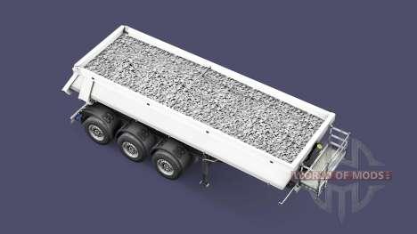 Semi-reboque basculante Schmitz Cargobull para Euro Truck Simulator 2