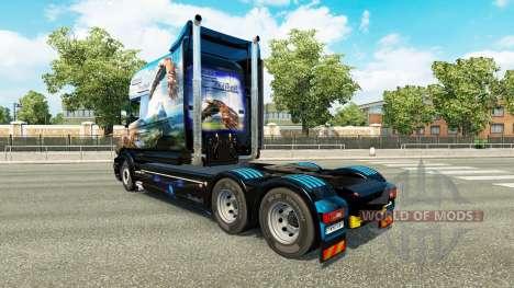 Grosse Freiheit pele para a Scania T caminhão para Euro Truck Simulator 2
