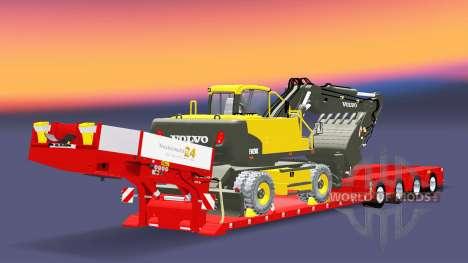 De baixo da cama de rede de arrasto de Boneca Va para Euro Truck Simulator 2