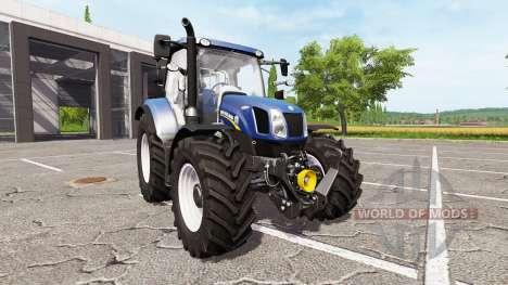 New Holland T6.160 blue power para Farming Simulator 2017