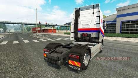 Malasian companhias Aéreas pele para a Volvo caminhões para Euro Truck Simulator 2
