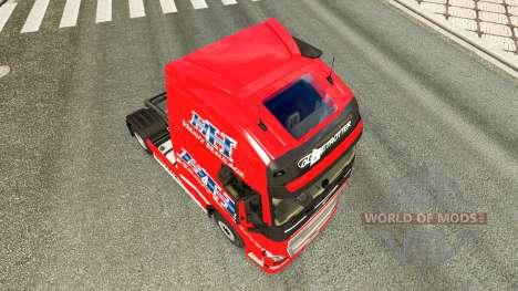 Pesados de Mercadorias, de pele para a Volvo cam para Euro Truck Simulator 2