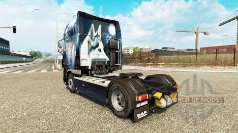 Pele de lobo para caminhões DAF para Euro Truck Simulator 2