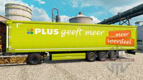 Pele PLUS semi para Euro Truck Simulator 2