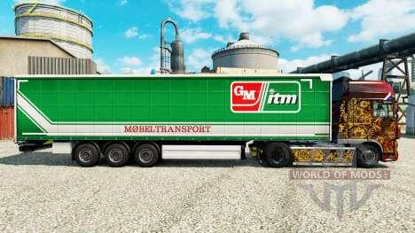 Pele GM itm Mobeltransport para reboques para Euro Truck Simulator 2