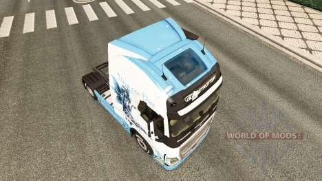O Vaya con Dios pele para a Volvo caminhões para Euro Truck Simulator 2