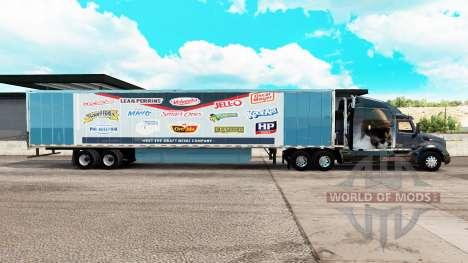 Pele vigor Heinz estendida do trailer para American Truck Simulator