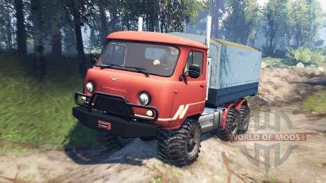 UAZ-33036 6x6 v3.0 para Spin Tires