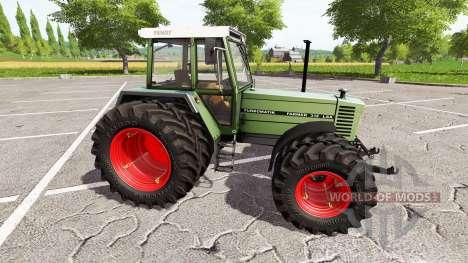 Fendt Farmer 312 LSA Turbomatik v1.0.0.3 para Farming Simulator 2017