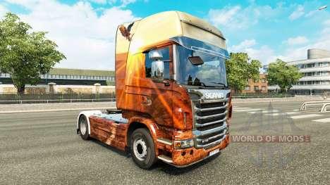Espírito livre pele para o Scania truck para Euro Truck Simulator 2