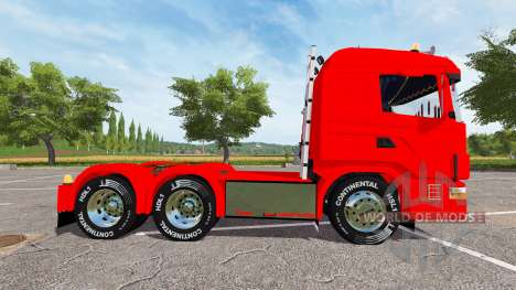 Scania 124L 440 agrar 6x4 para Farming Simulator 2017