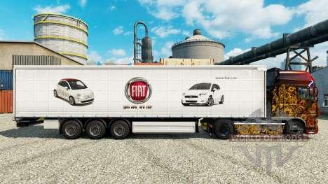 Fiat pele para reboques para Euro Truck Simulator 2