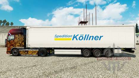 Pele Spedition Kollner na semi para Euro Truck Simulator 2