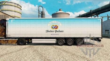 Pele Hacker-Pschorr na semi para Euro Truck Simulator 2