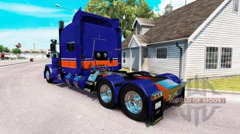 Rollin Transporte de pele para o caminhão Peterb para American Truck Simulator