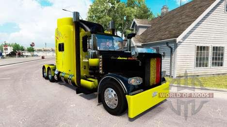 Vanderoel pele para o caminhão Peterbilt 389 para American Truck Simulator