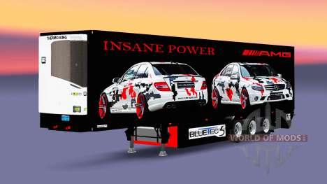 Semi-reboque-o frigorífico AMG Poder para Euro Truck Simulator 2
