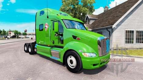 SGT pele para o caminhão Peterbilt 387 para American Truck Simulator