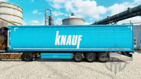 Pele botão na semi para Euro Truck Simulator 2