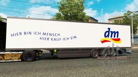 Semi-reboque frigorífico Schmitz DM Farmácia para Euro Truck Simulator 2