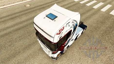 Produto de pele no trator Scania para Euro Truck Simulator 2