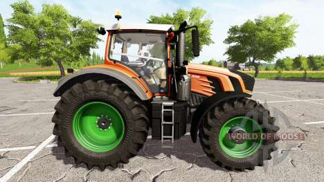 Fendt 930 Vario rims and body color choise para Farming Simulator 2017