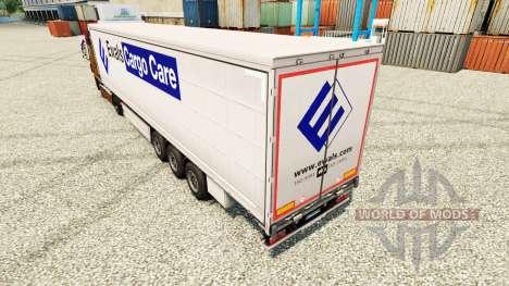 Cuidados com a pele na Polónia Carga reboques para Euro Truck Simulator 2