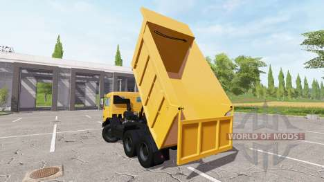 KAMAZ-65115, Euro2 para Farming Simulator 2017