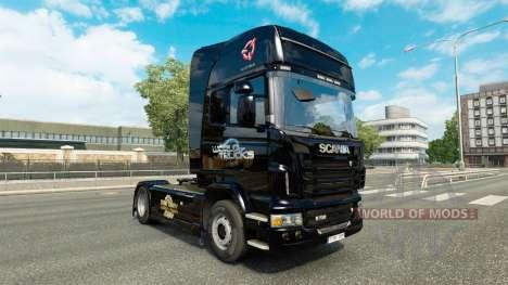 Pele Euro Truck Simulator caminhão Scania para Euro Truck Simulator 2