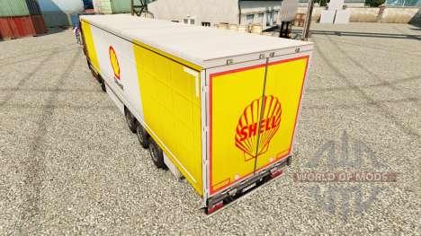 Pele Royal Dutch Shell na semi para Euro Truck Simulator 2