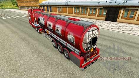 Pele Scania História química semi-reboque para Euro Truck Simulator 2