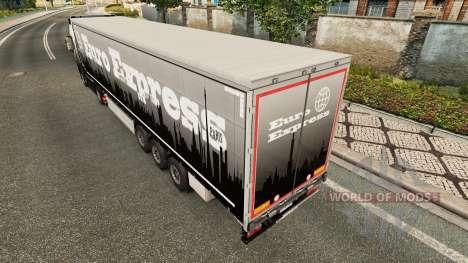 Euro Express pele para reboques para Euro Truck Simulator 2