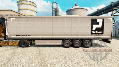 PacLease pele para reboques para Euro Truck Simulator 2