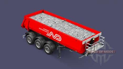 Semi-reboque basculante Schmitz, Norbert para Euro Truck Simulator 2