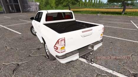 Toyota Hilux Double Cab para Farming Simulator 2017