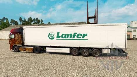 Pele Lanfer Logística para reboques para Euro Truck Simulator 2