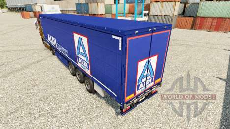 Pele Aldi Markt para semi-reboques para Euro Truck Simulator 2