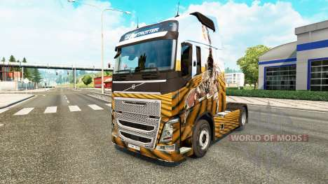 Escorpião de pele para a Volvo caminhões para Euro Truck Simulator 2
