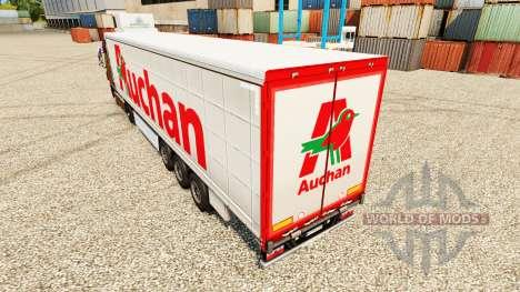 Auchan pele para reboques para Euro Truck Simulator 2