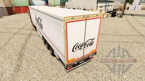 Pele Coca-Cola semi para Euro Truck Simulator 2