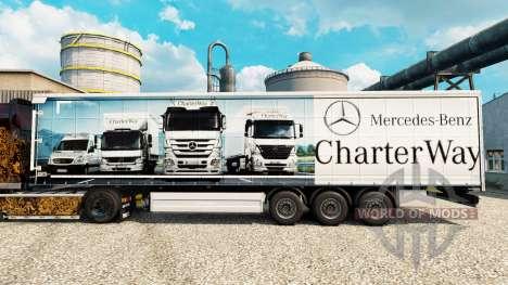 Pele Mercedes-Benz Carta Maneira, no reboques para Euro Truck Simulator 2